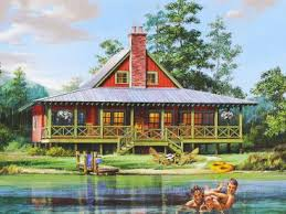 Waterfront House Plans   The House Plan ShopAbout Waterfront House Plans  amp  Waterfront Home Floor Plans