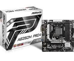 ASRock > AB350M <b>Pro4</b>