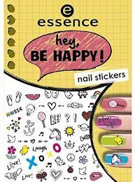 <b>ESSENCE</b> NAIL ART STICKERS PARA UÑAS 05 <b>HEY, BE</b> HAPPY ...