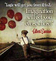 Great Imagination Quotes. QuotesGram via Relatably.com