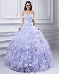 <b>Ball Gown</b> Yarn Beaded Ruffle Sweetheart Ankle Length ...