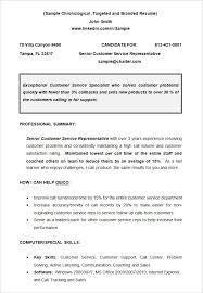 cv sample chronological resume template format of chronological resume