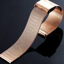 16/18mm <b>Braided Stainless Steel</b> Mesh <b>Watch Strap</b> For Wrist ...