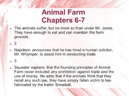 animal farm chapters 6 7 the animals continue to work all year at 3 animal farm