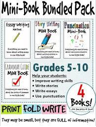 punctuation essay ela student mini book reference bundle grammar punctuation  english language