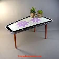 1960s trapezoidal <b>MOSAIC SIDE TABLE</b>, <b>plant</b> stand, midcentury ...