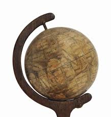 an early globe of the planet mars louis niesten  an early globe of the planet m