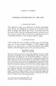 working conceptions of the law springer inside