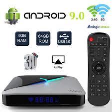 <b>A95X F3 Air</b> Android 9.0 <b>TV</b> Box Quad-Core Cortex-A55 Amlogic ...