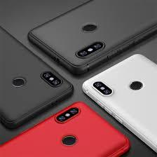 For Xiaomi 8 A2 Redmi Note 5 F1 Anti fingerprint <b>Soft TPU Candy</b> ...
