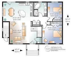 alternate basement floor plan  st level bedroom house plan       st level bedroom house plan   basement apartment apartment   one bedroom and open