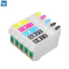 5pcs empty Refillable Ink cartridge For Epson T1110 TX515FN ...