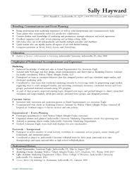 resume event management resume mini st event management resume
