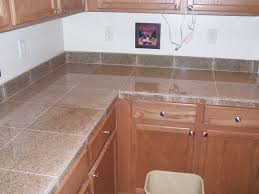 Kitchen Tile Countertop 17 Best Images About Tiled Countertops On Pinterest Ceramics