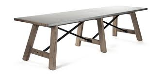 long wood dining table: calistoga  calistoga calistoga