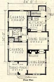Spanish Revival   Sears Modern HomesFloor plan