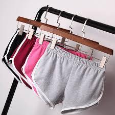 <b>New Summer Shorts</b> Women Casual Shorts Workout Waistband ...