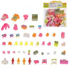 <b>Игровой набор Мебель</b>, в компл. 51 предм., пакет - купить со ...