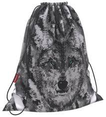 Купить ErichKrause <b>Мешок для обуви</b> Wolf (46183) черный по ...