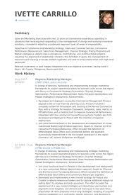 regional marketing manager resume samples   visualcv resume    regional marketing manager resume samples