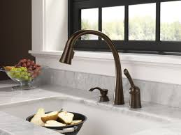 Delta Touch Kitchen Faucet Faucetcom 980t Ar Dst In Arctic Stainless By Delta