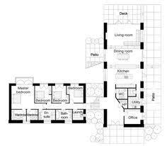 ideas about L Shaped House on Pinterest   L Shaped House    L shaped house   love the separate WIRs for his and hers