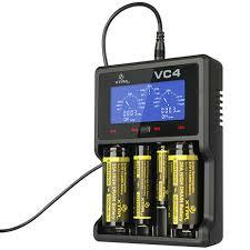 Купить <b>Зарядное устройство XTAR VC4</b> для Li-Ion / Ni-Mh ...