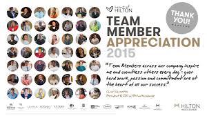team member appreciation week