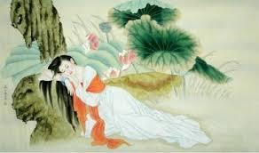 Chinese Painting: Beautiful ladies - Chinese Painting CNAG241493 ...