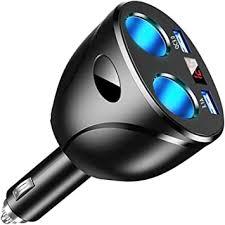 USB Car Charger Splitter Adapter, 2 Socket Cigarette ... - Amazon.com