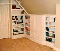 built in bookshelves attic douglas wood custom woodcrafting fine custom cabinets and furniture attic bedroom furniture