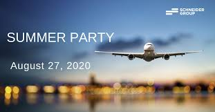 Join Our Traditional <b>Summer Party</b>!   SCHNEIDER GROUP