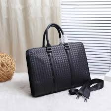Kaisiludi leather <b>bag handbag</b> woven briefcase leisure <b>computer</b> ...