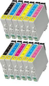 for epson stylus photo 1400 chip 6pcs set