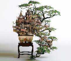 takanori aibas amazing bonsai tree castles are miniature living worlds bonsai tree