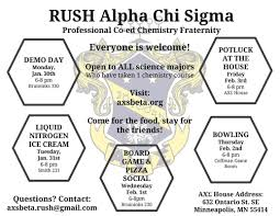 rush axs alpha chi sigma beta chapter picture