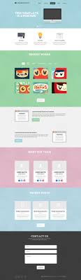 one page website template template one page website template