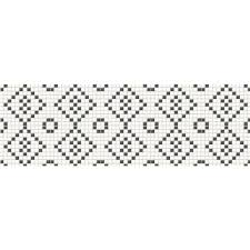 <b>Декор MEI Pret</b> a <b>Porter</b> 750x250 black&white mosaic O-PRP ...