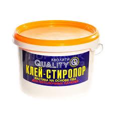 <b>Клей</b> строительный <b>Quality</b> Стиропоровый, 4 кг в Москве: отзывы ...