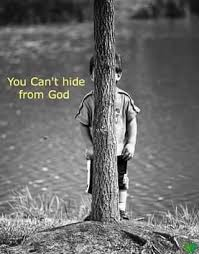 Image result for can't hide from god
