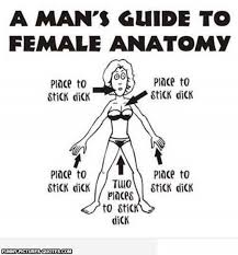 A Mans Guide To Female Anatomy!! | Funny Pictures and Quotes