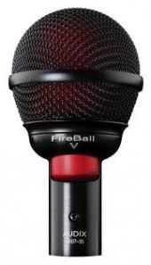 Универсальный <b>инструментальный микрофон AUDIX fireball</b>-v ...