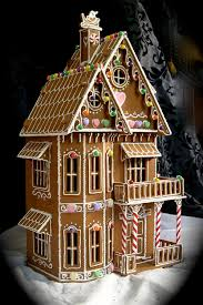 Best Photos of Gingerb Houses Templates And PA   Victorian    Victorian Gingerb House