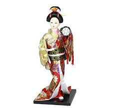 12'' Tall Japanese Ethnic Geisha Kimono Girl Asian ... - Amazon.com
