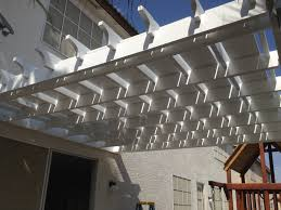 Ana White   Pergola  attached directly to the house    DIY ProjectsAdditional Photos
