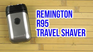 Распаковка <b>REMINGTON R95 Travel Shaver</b> - YouTube