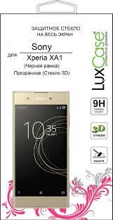 <b>Защитное стекло</b> Sony Xperia XA1 3D черное от <b>LuxCase</b> ...
