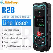<b>Mileseey</b> R2/R2B <b>лазерный</b> дальномер <b>Лазерная</b> линейка ...