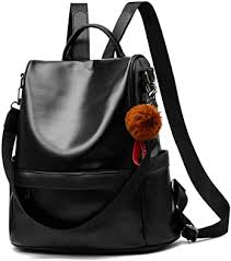 <b>Women</b> Backpack Purse <b>PU</b> Leather Anti-theft Casual <b>Shoulder Bag</b> ...