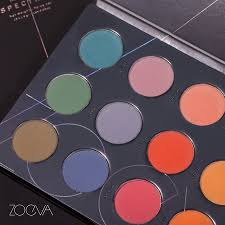 "<b>ZOEVA</b> Cosmetics on Twitter: ""Vibrant vibes. Let our <b>Matte Spectrum</b> ..."